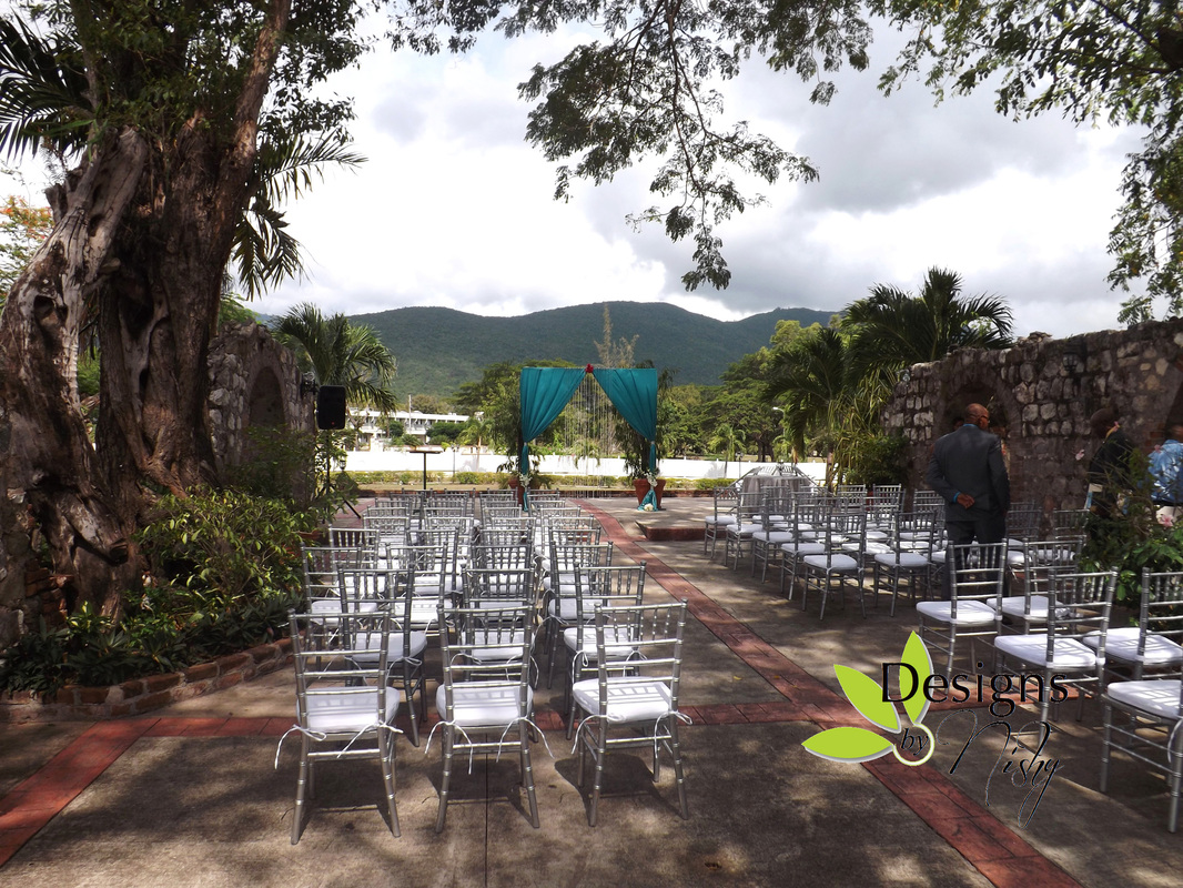 Wedding At The Mona Visitors Lodge Designs By Nishy Weddings Amp Special Events Jamaica