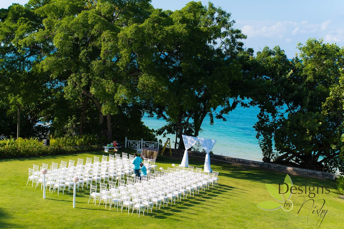 Dream Destination Wedding At Laughing Waters St Ann Jamaica