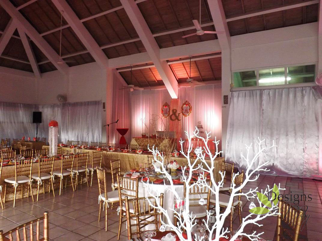 Designs By Nishy Wedding at Caymanas Golf Club