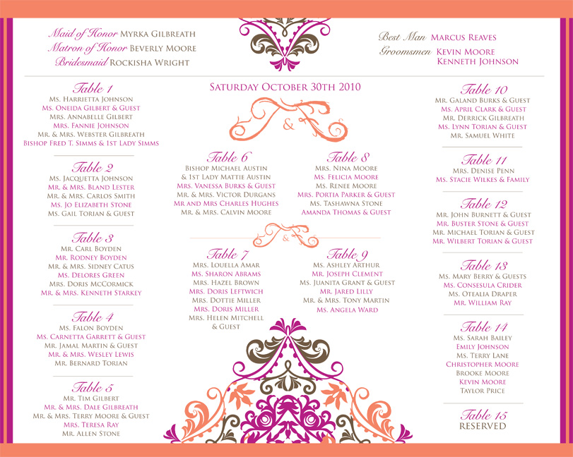 Wedding Invitations Programs More