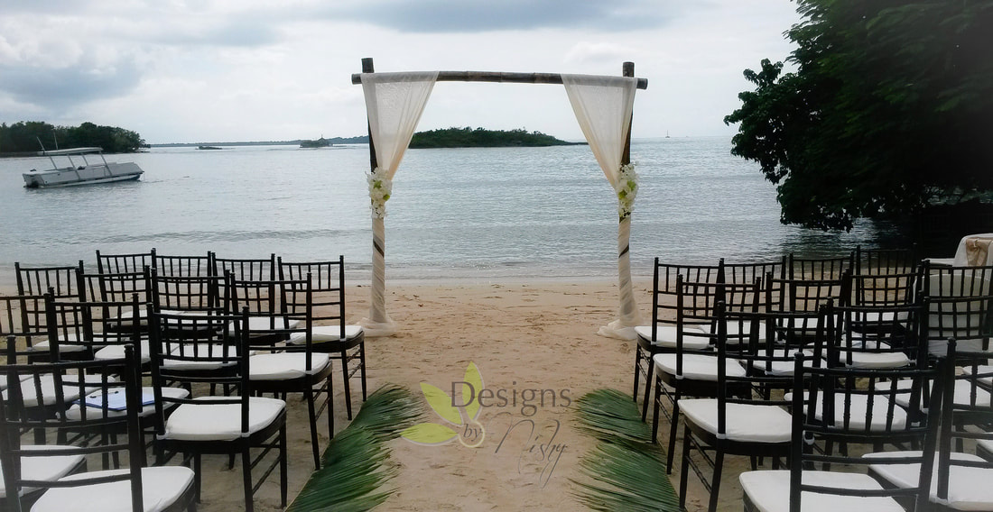 Designs By Nishy Wedding at Half Moon Beach